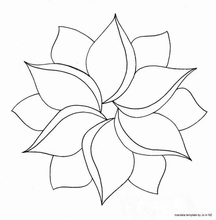 Cute Easy Drawings Of Flowers