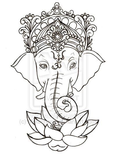 Easy Ganesh Drawing