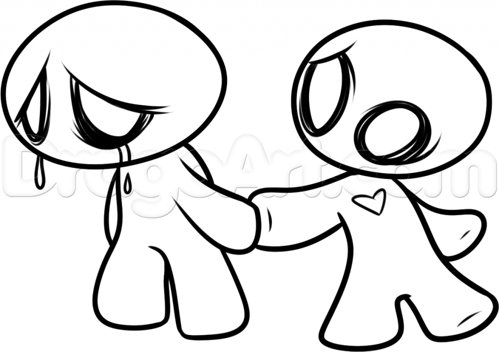 1024x722 Drawings That Are Easy How To Draw A Halloween Ghost Cartoon
