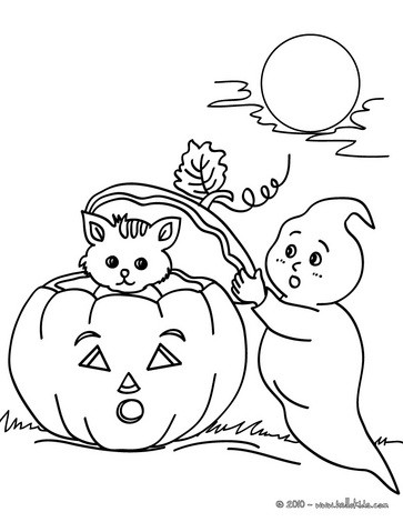 363x470 Ghost Coloring Pages 2