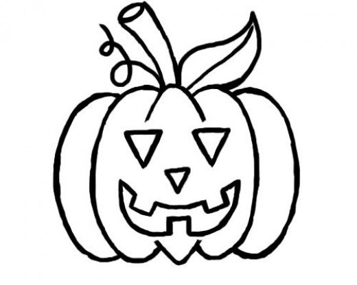 520x416 How To Draw A Pumpkin For Halloween A Simple Tutorial For Kids