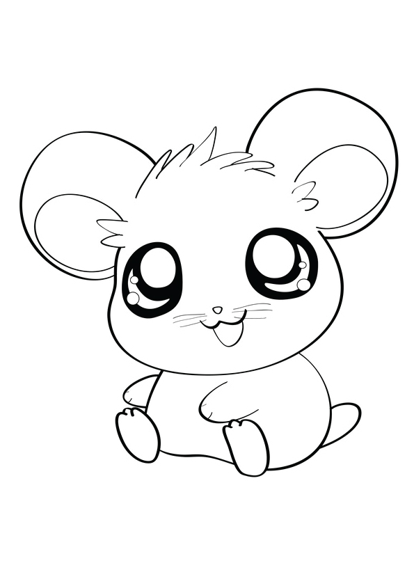 Easy Hamster Drawing At Getdrawings Com Free For