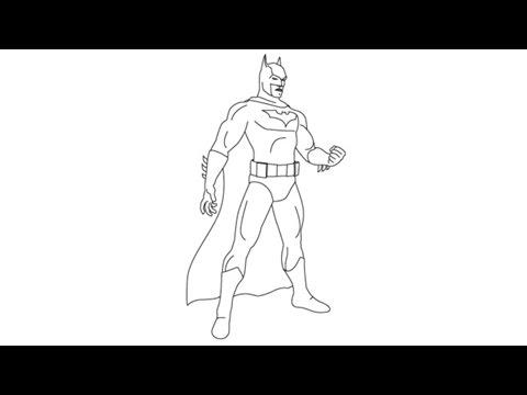 480x360 How To Draw Batman