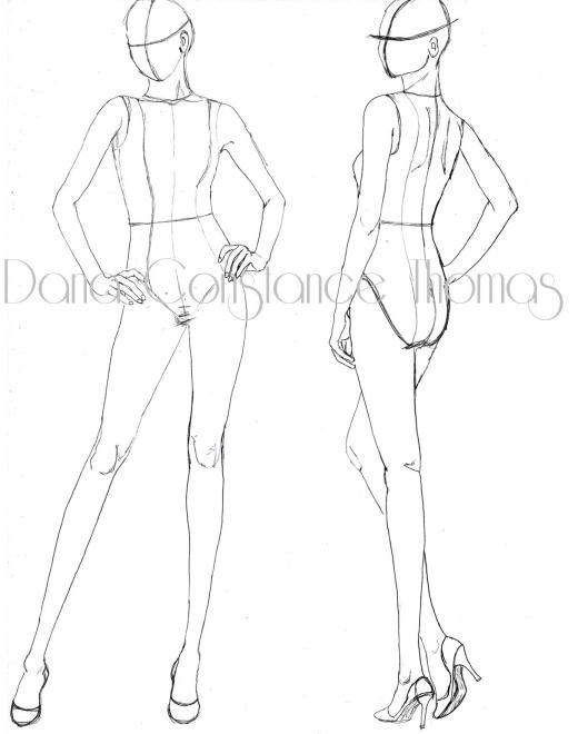 520x660 Image Result For Easy Sketch Of Thread Reel Pose
