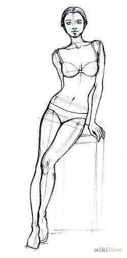 250x507 Draw Basic Human Figures Figure Drawing, Sketches And Drawings