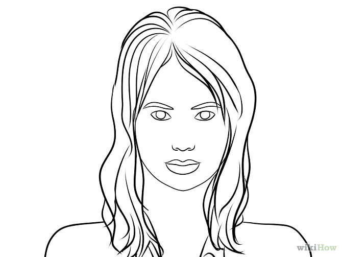 670x503 Draw A Portrait Portraits, Drawings And Drawing Faces