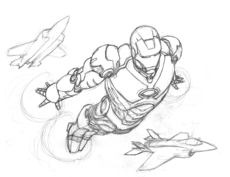 easy iron man drawing at getdrawings com