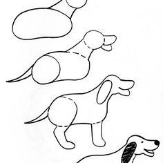 Easy Kangaroo Drawing