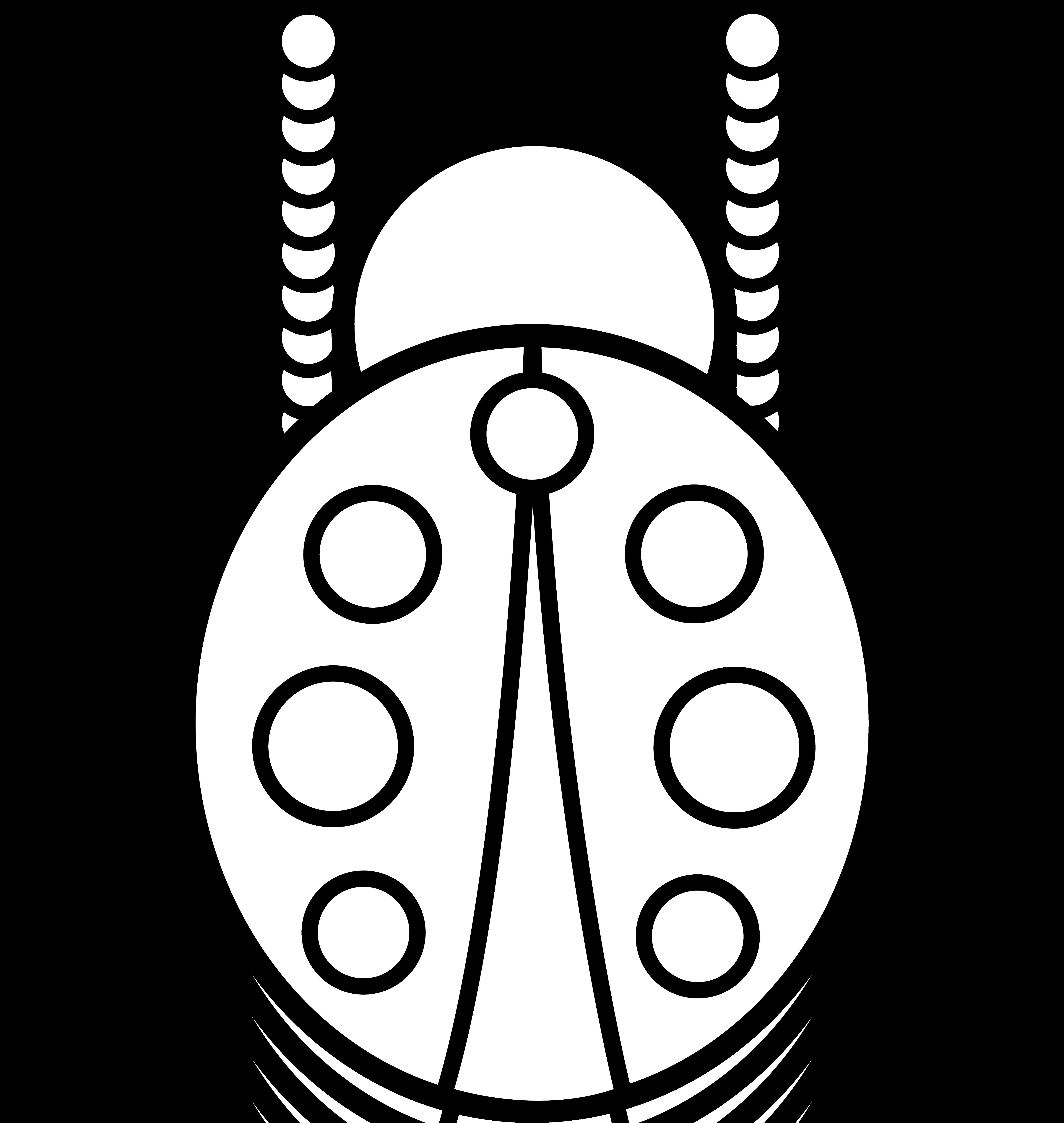 5729x6049 Drawn Ladybug Simple