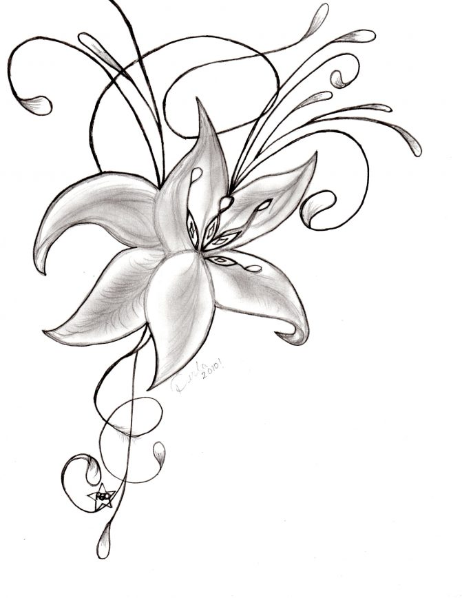 671x868 Coloring Pages Draw Beautiful Flowers Beautiful Flowers To Draw