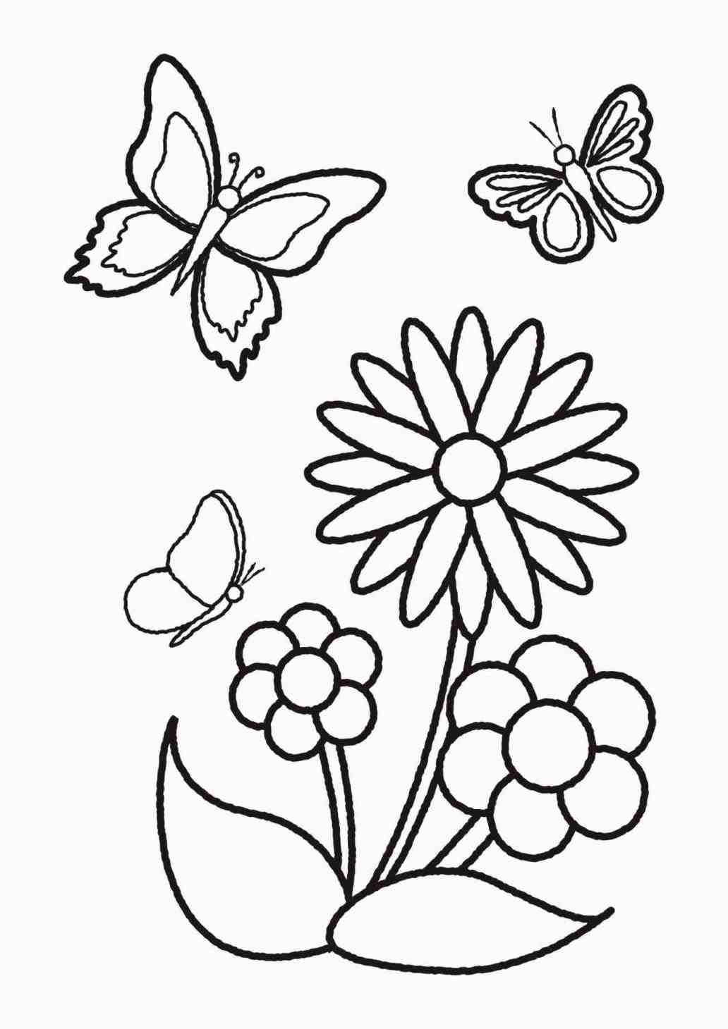 1032x1460 The Images Collection Of Drawing Ideas Easy Flowers Lily Nice