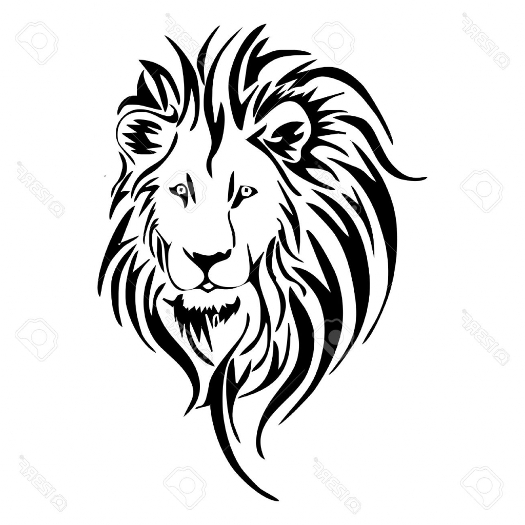 Easy Lion Face Drawing at GetDrawings.com | Free for ... - photo#45