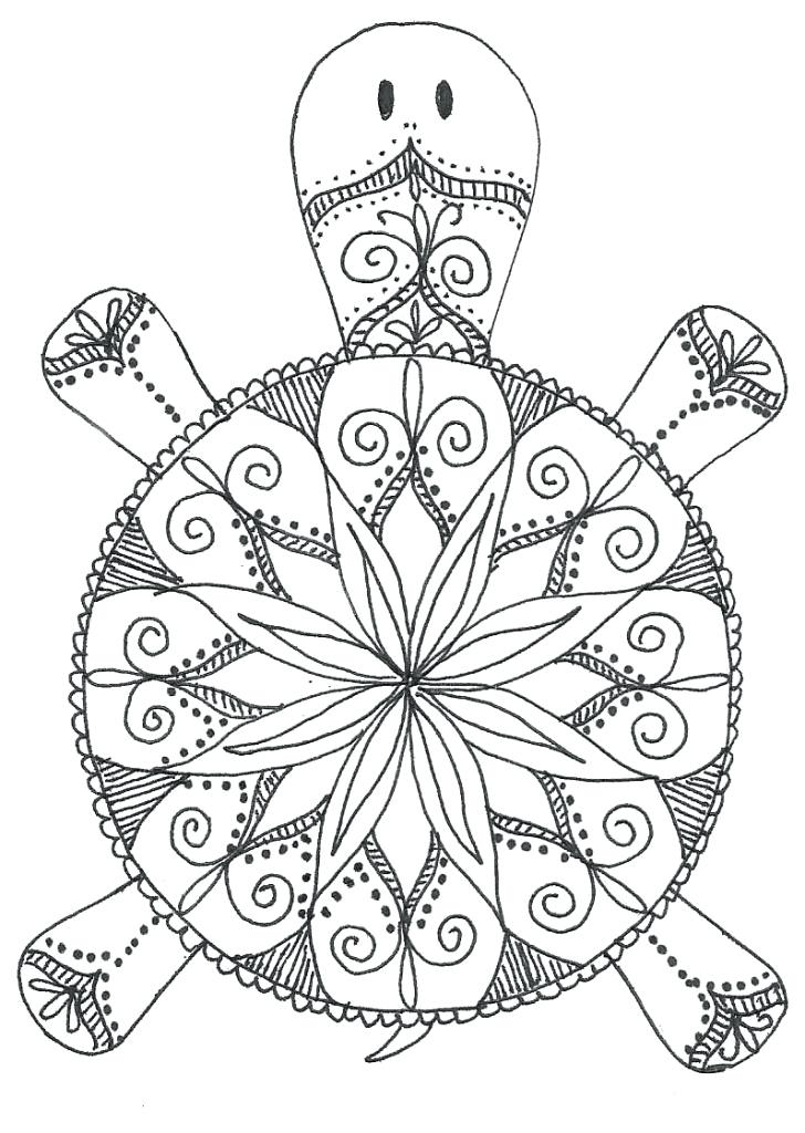 728x1024 Easy Mandala Coloring Pages Mandala Coloring Pages For Adult