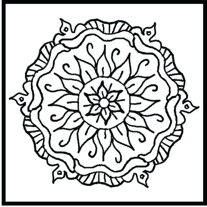 851x850 Designs Coloring Pages Cool Designs Coloring Pages Colouring