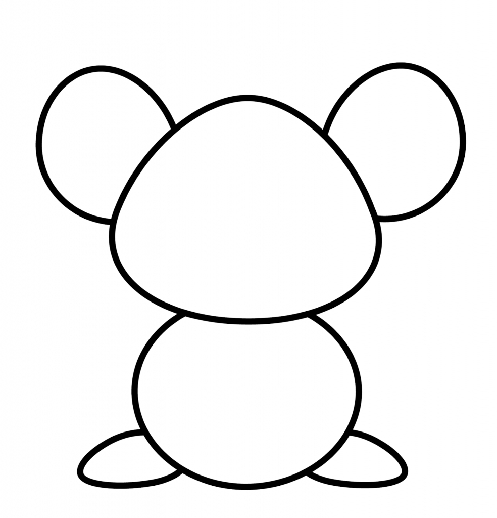 984x1024 Cartoon Mouse Drawings How To Draw A Mouse