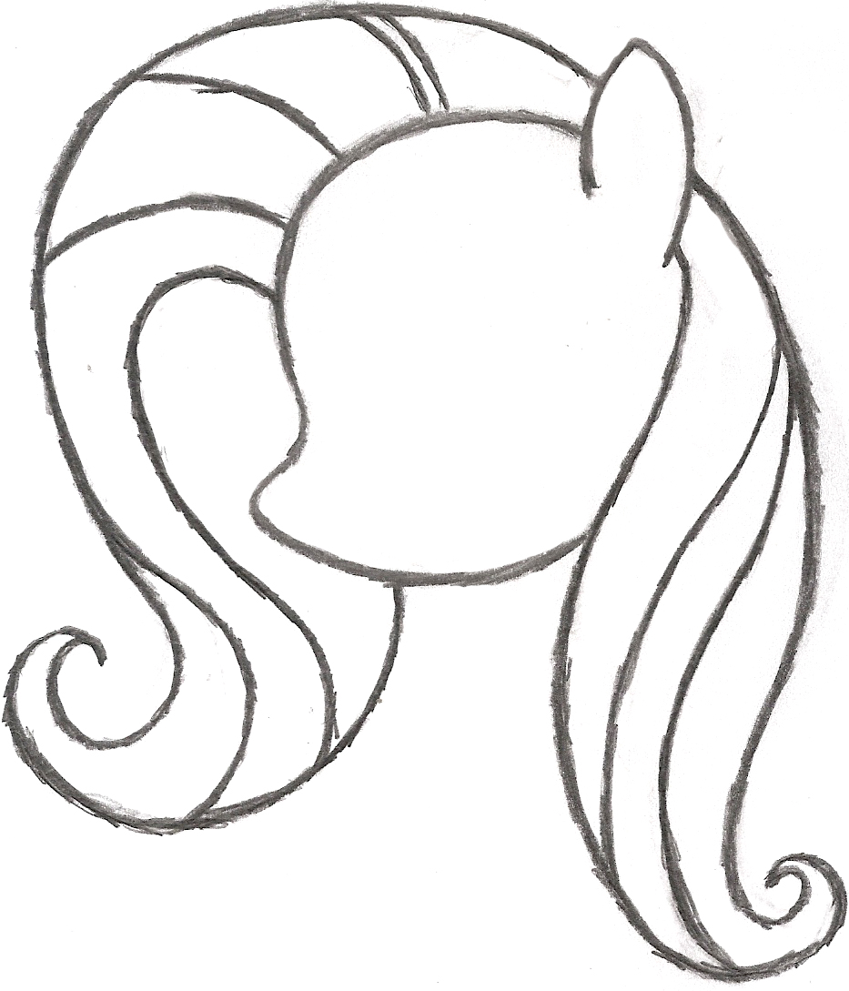 Easy My Little Pony Drawing At Getdrawings Com Free For Personal