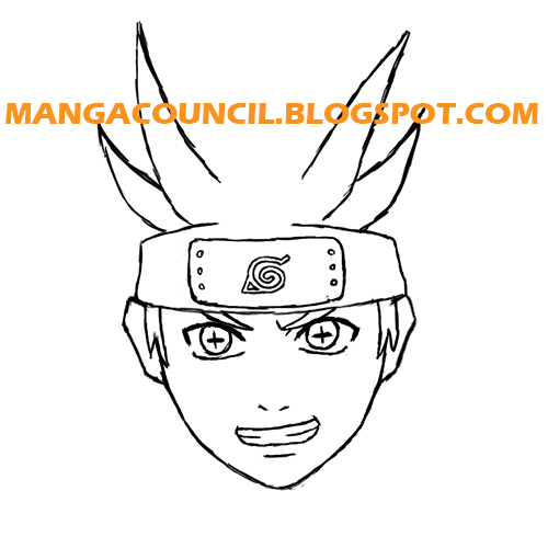 ​​How to draw naruto