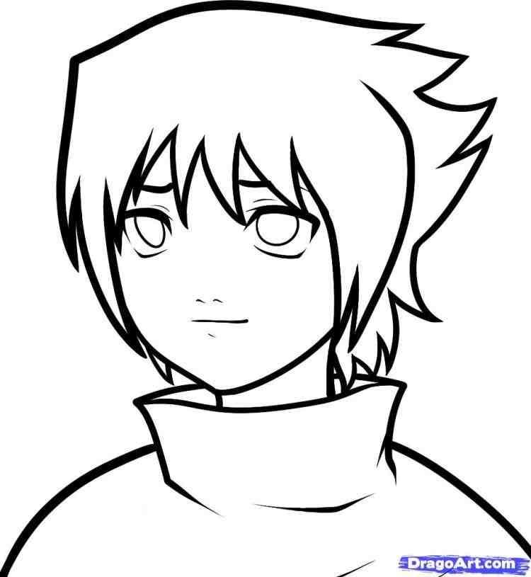 750x815 Naruto And Sasuke Easy Drawing Drinkeats.club