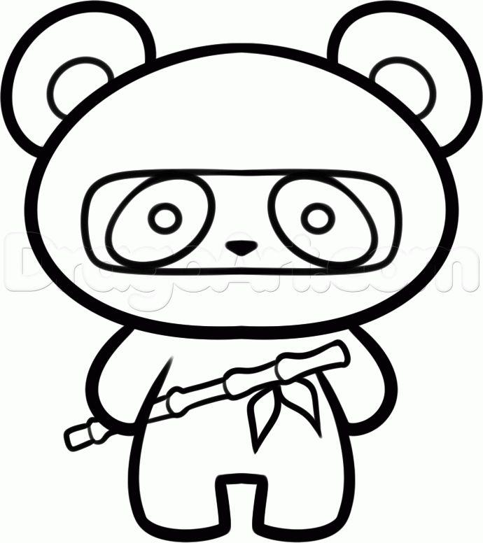 Easy Ninja Drawing