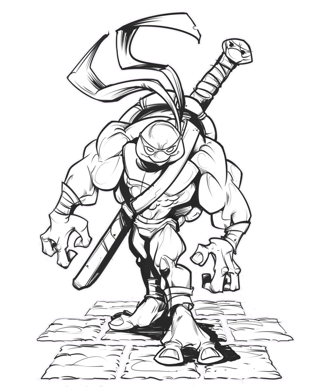 Easy Ninja Drawing At Getdrawings Com Free For Personal Use Easy