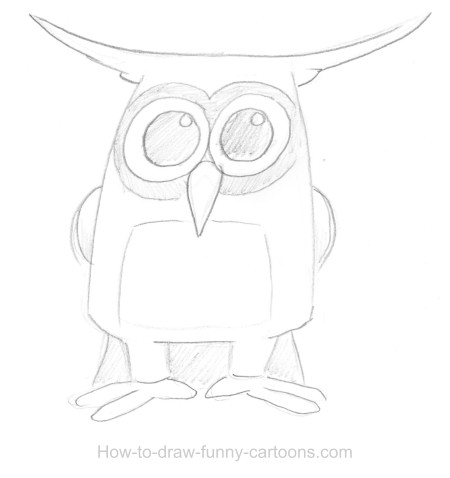 450x478 owl drawings sketching vector