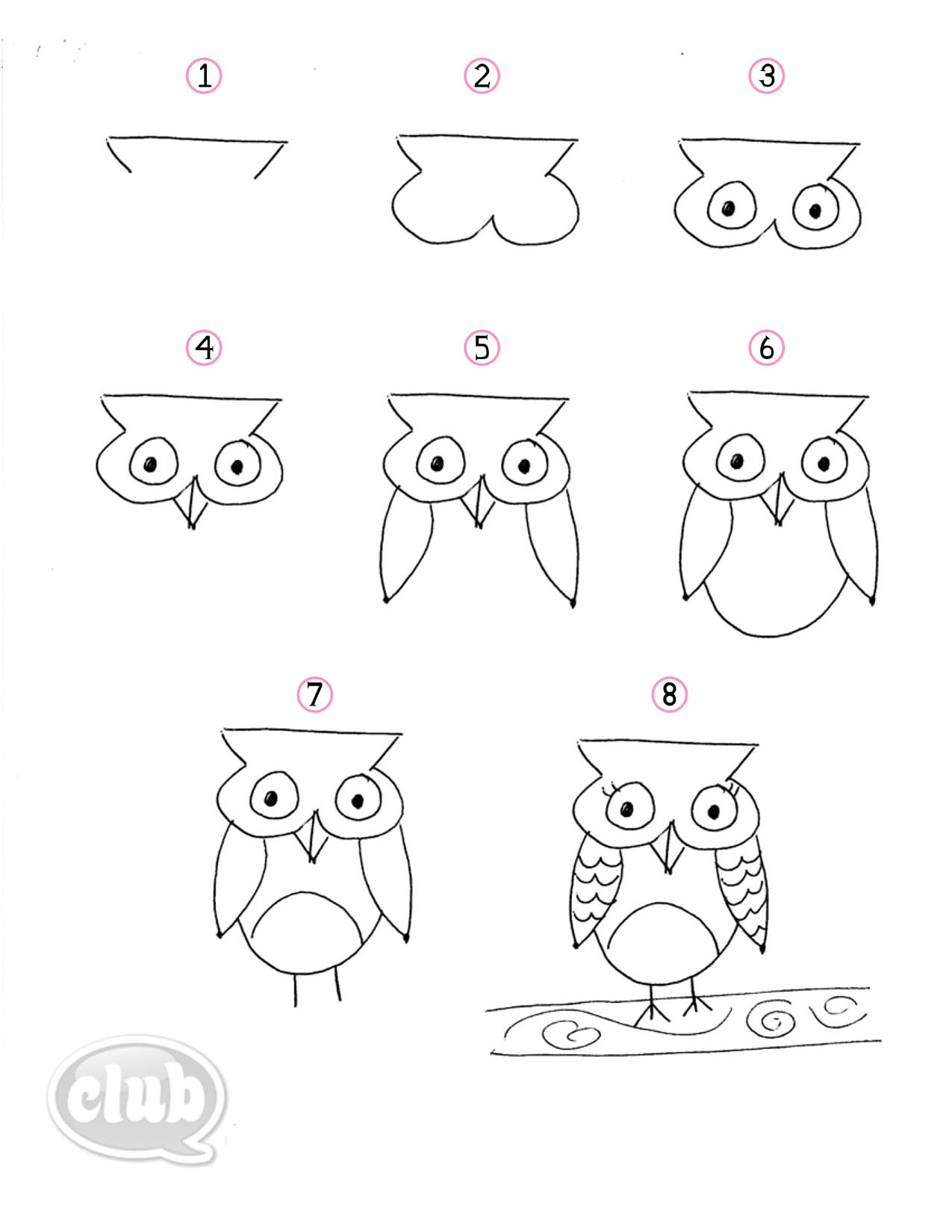 1275x1650 Best 25 Owl Drawing Easy Ideas On Owl Doodle Easy