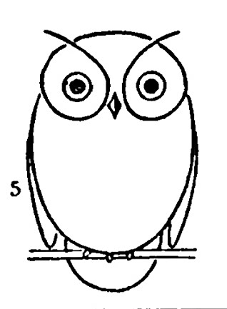 318x433 Best Photos Of Cute Owl Outline To Trace