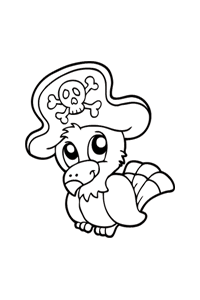Easy Pirate Drawing at GetDrawings.com | Free for personal use Easy ...