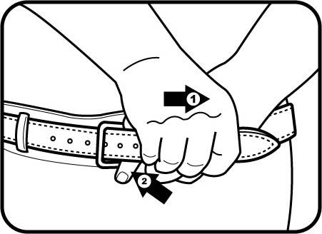 451x328 Tapered 1 12 Gun Belt (L.c.)