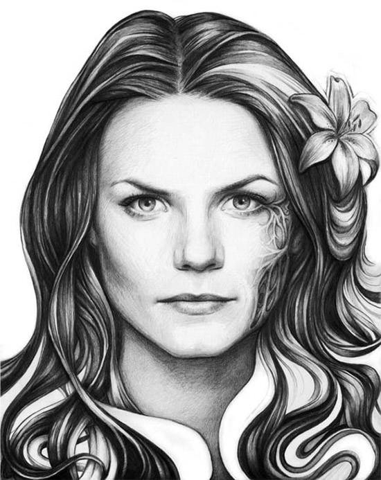 Easy Portrait Drawing
