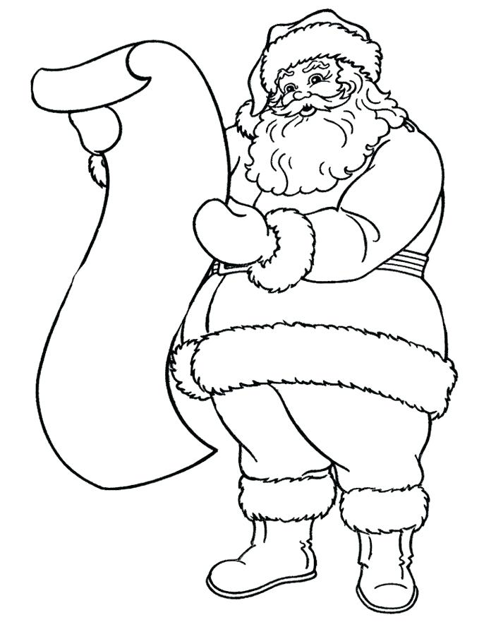 696x888 Santa Claus Drawing How To Draw A Cartoon Face Step 4 Santa Claus