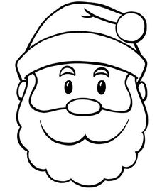 235x269 How To Draw A Cartoon Santa Face Step 4 Christmasing