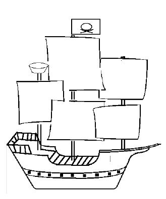 Easy Ship Drawing