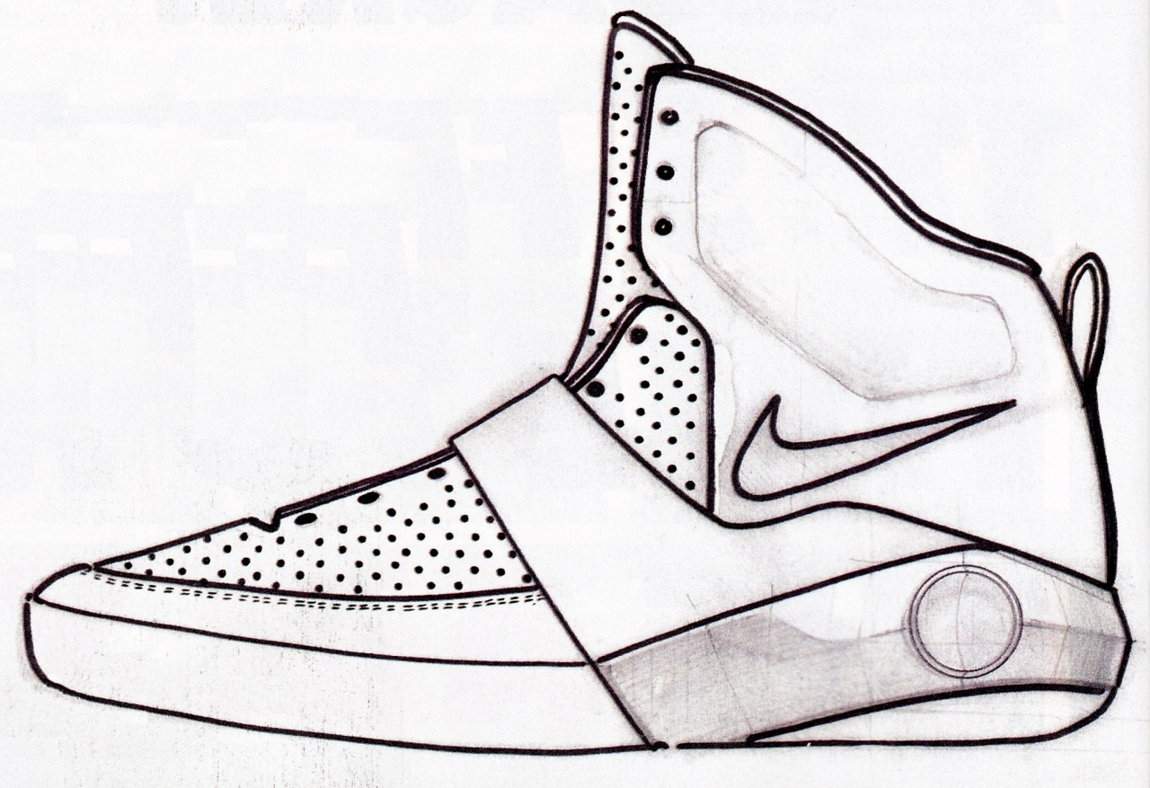 1280x877 Basketball Shoes Drawing Drawn Shoe Basketball Shoe