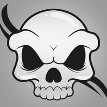 220x220 How To Draw How To Draw A Skull For Kids