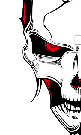 270x451 Illustrate A Malevolent Skull In 8 Steps