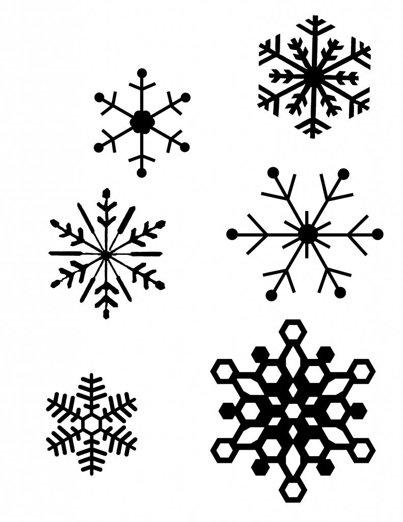 easy snowflake drawing at getdrawings  free download