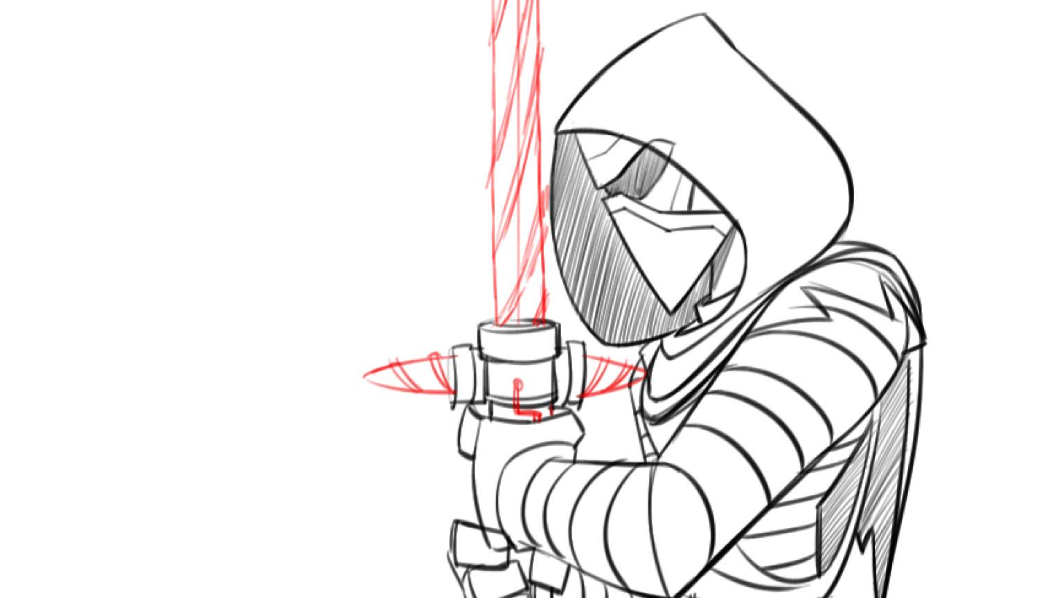 1536x864 How To Draw Kylo Ren, Disney Infinity Style