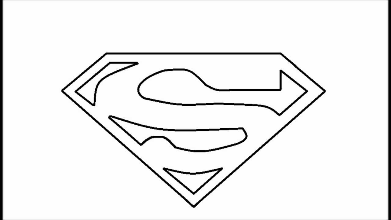 Easy Superman Drawing
