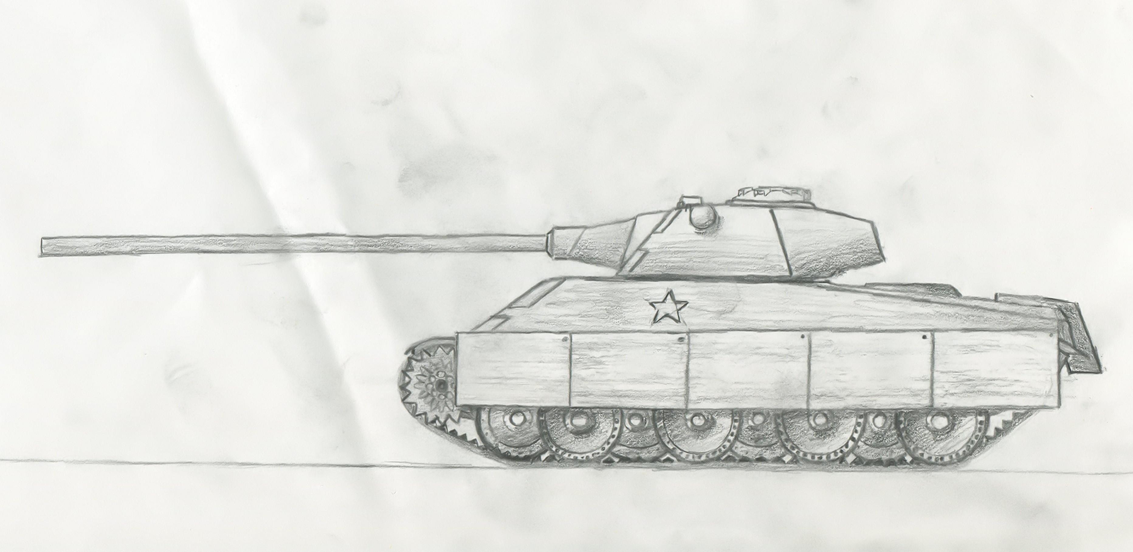 how to draw army tanks free