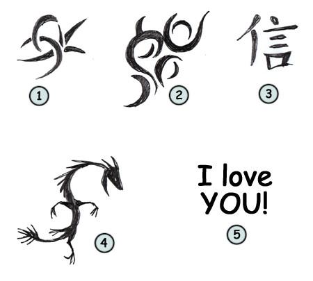 450x405 How To Draw Cartoon Tattoos