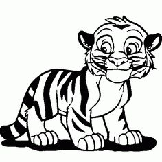 236x236 How To Draw A Tiger Cub, Tiger Cub Step 9 Tiger Party