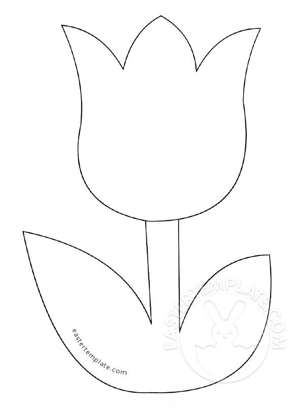 easy tulip drawing at getdrawings