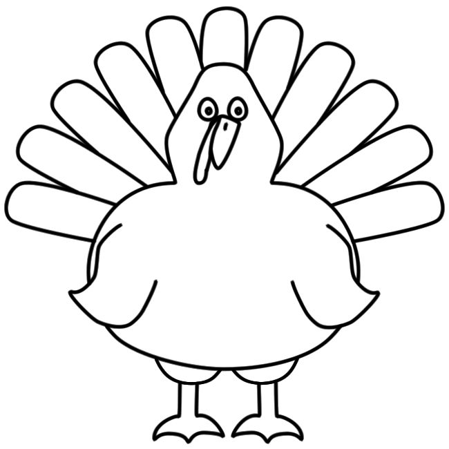 easy turkey drawing at getdrawings com free for personal use easy