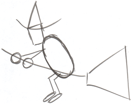 450x357 How To Draw Witch Flying Broomstick Halloween Drawing Tutorial