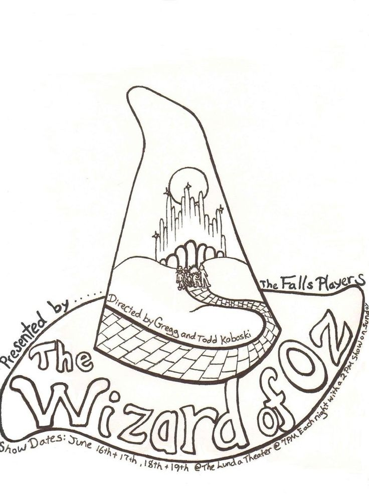 736x989 The Wizard Of Oz Coloring Pages To Color Easy Wizard Of Oz