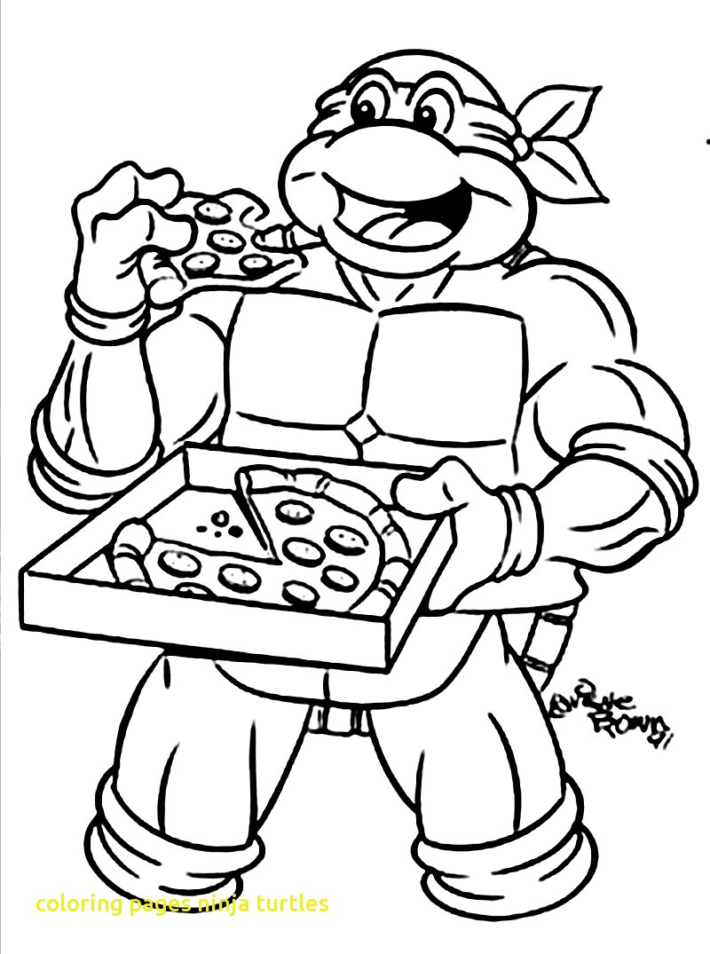 800x1075 Coloring Pages Ninja Turtles With Ninja Turtle Coloring Pages Eat