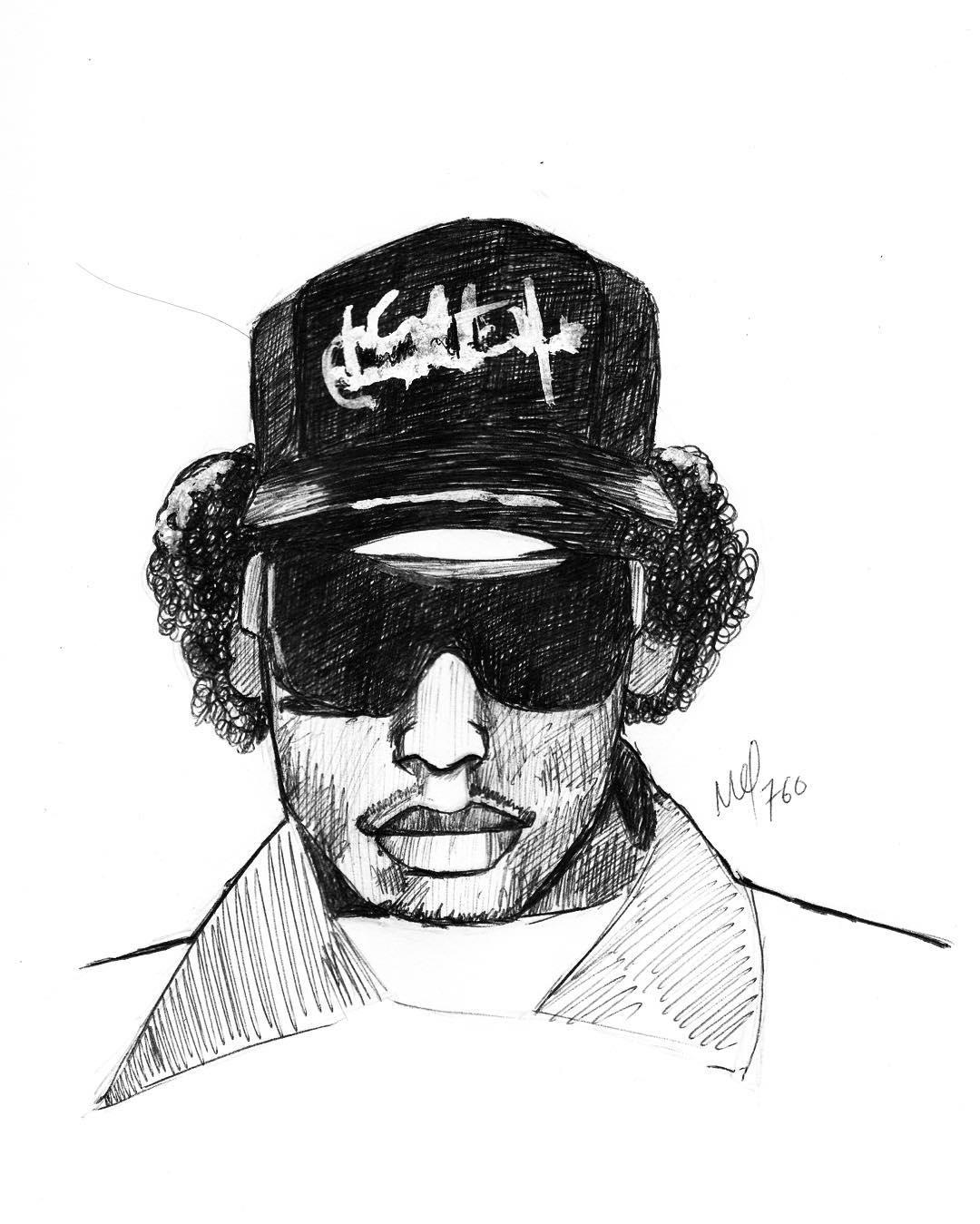 Eazy E Drawing