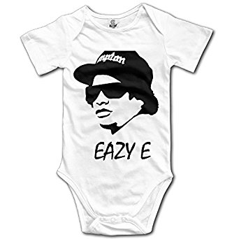342x342 Baby Onesie Eazy E Nwa Face Rapper Cool Baby Bodysuit