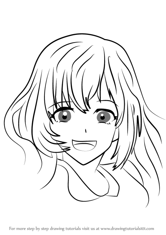 566x800 Learn How To Draw Echo Girl From Mystic Messenger (Mystic